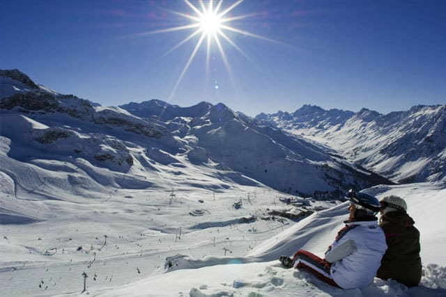 Skiing in Ischgl Tirol